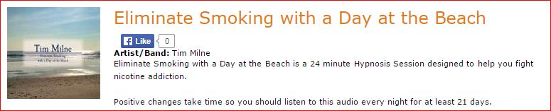 Eliminate Smoking with a Day at the Beach